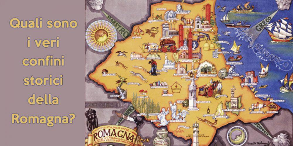 Cartina Dell Italia E I Suoi Confini.La Romagna E I Suoi Storici Confini Vivi Consapevole In Romagna