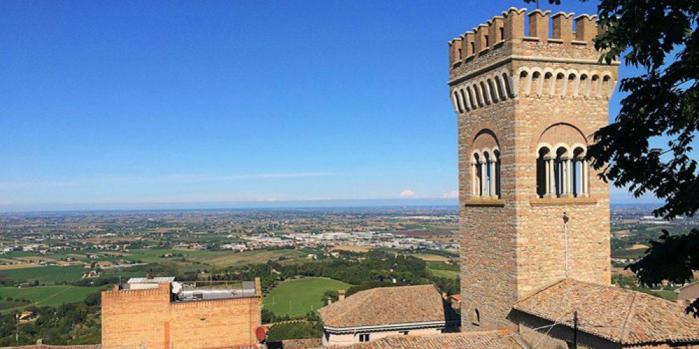 BERTINORO, il balcone della Romagna